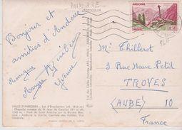ANDORRE  0,30 F  CROIX GOTHIQUE MERIXEL  . S/ CPM 10X15 Multivues - Lettres & Documents