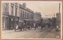 Sussex  HASTINGS Street Scene Distant Tram   RP  Sx188 - Hastings