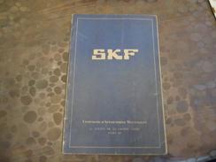 Catalogue SKF - 1950 - Compagnie D'application Mécaniques - Paris 16 ème - Lille - Roulement ,paliers - Old Paper
