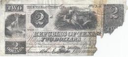 REPUBLIQUE DU TEXAS - 1840 - 2 DOLLARS - United States Of America