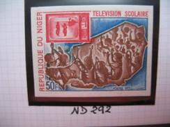 Timbre Non Dentelé   N° 292  Télévision Scolaire   1973 - Nigeria (1961-...)