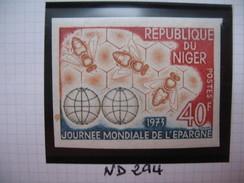 Timbre Non Dentelé   N° 294    Télévision Scolaire   1973 - Nigeria (1961-...)