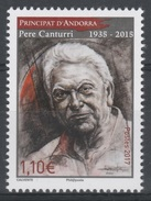Andorra (French Adm.), Pere Canturri, Historian And Writer, 2017, MNH VF - French Andorra