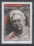 Andorra (French Adm.), Pere Canturri, Historian And Writer, 2017, MNH VF - Andorre Français
