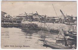 Mozambique Mosambique, Maputu, Lourenco Marques, Lighter Dock - Mozambique