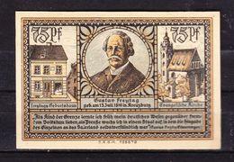 Notgeld, Kreuzburg In Oberschlesien, 75 Pfg, 1921 (42860) - Lokale Ausgaben