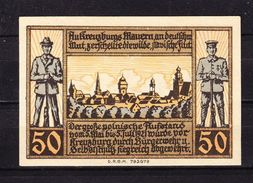 Notgeld, Kreuzburg In Oberschlesien, 50 Pfg, 1921 (42861) - Lokale Ausgaben