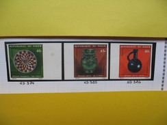 Timbre Non Dentelé   N° 3224 à 326  Artisanat   1975 - Nigeria (1961-...)