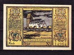 Notgeld, Spar- Und Leikasse Keitum Sylt, 50 Pfg, 1922 (42862) - Lokale Ausgaben