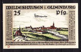 Notgeld, Wildeshausen, 25 Pfg, 1921 (42863) - Lokale Ausgaben