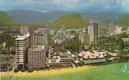 Hawaii Waikiki Hotels Aerial View - Oahu