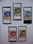 Timbre Non Dentelé   N° 348 à 351  Campagne De L'alphabétisation  1976 - Nigeria (1961-...)