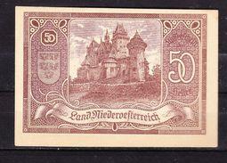 Notgeld, Land Niederoesterreich, 50 Heller, 1920 (42866) - Oesterreich