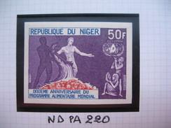 Timbre Non Dentelé   N° PA 220  10 ème Anniversaire Du Programme Alimentaire Mondial   1963 - Nigeria (1961-...)