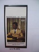 Timbre Non Dentelé   N° PA 253  S.E. Seyni Kountche Chef D'état    1975 - Nigeria (1961-...)