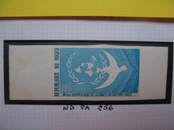 Timbre Non Dentelé   N° PA 256  30 ème Anniversaire De La Charte Des Nations Unies   1975 - Nigeria (1961-...)