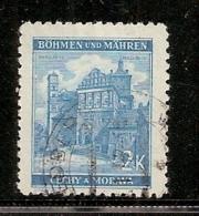 BOHEME ET MORAVIE    N°  53  OBLITERE - Bohême & Moravie