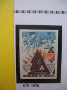 Timbre Non Dentelé   N° 406  Foire  Internationale De Dakar   1974 - Sénégal (1960-...)