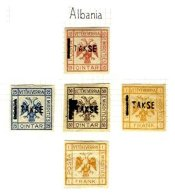 ALBANIA, Unissued, * MLH, F/VF - Albanie