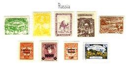 RUSSIA, Turkestan, * MLH, F/VF - Russie & URSS