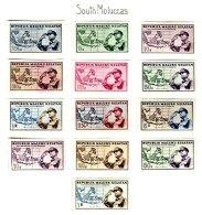 SOUTH MOLUCAS, Unissued Stamps, * MLH, F/VF - Nederlands-Indië