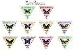 SOUTH MOLUCAS, Unissued Stamps, ** MNH, F/VF - Vignettes De Fantaisie