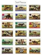 SOUTH MOLUCAS, Unissued Stamps, * MLH, F/VF - Vignettes De Fantaisie