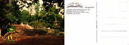 Cambron Parc- Brugelette- Escalier Monumental Néoclassique, Et La Tour - Actuellement Dans Pairi Daiza - Brugelette
