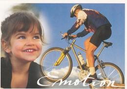 FRANCE - CP ENTIER POSTAL SERIE PASSION VTT - EMOTION  /5 - Mountain Bike