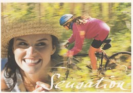 FRANCE - CP ENTIER POSTAL SERIE PASSION VTT - SENSATION  /5 - Mountain Bike