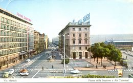 Italie - 1973 - Hotel Royal Santina - Via Marsala 22 - Rome - Ecrite, Timbrée, Circulée - 2290 - Hotels & Gaststätten