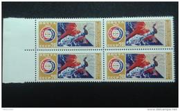 RUSSIA 1975 MNH (**)YVERT4144  SPACE  Bloc Of 4 - Ungebraucht