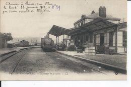 DIVES SUR MER     Interieur De La Gare  1918 - Dives