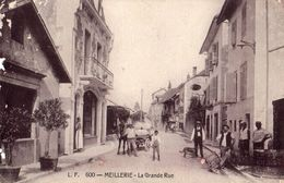 600- MEILLERIE  - LA GRANDE RUE   CARTE ANIMEE  1914 - France