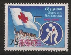 Sri Lanka - 1986 - N°Yv. 742 - Croix Rouge - Neuf Luxe ** / MNH / Postfrisch - Sri Lanka (Ceylon) (1948-...)