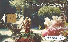 CARTE°-PUCE-NOUVELLE-CALEDONIE-80U-NC40- -GEM A-03/1996-EVASION SOUS MARINE-V°N°00123-UTILISE-TBE - New Caledonia