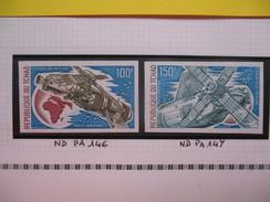 Timbre Non Dentelé   N° PA 146  Survol De L'Afrique Par Skylab  1974 - Tchad (1960-...)