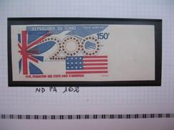 Timbre Non Dentelé   N° PA 162  Fondation Des Etats Unis D'Amérique     1975 - Tchad (1960-...)