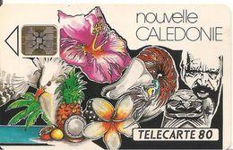 CARTE°-PUCE-NOUVELLE-CALED ONNIE-80U-NC7 A-SC5-11/92-MOZAIQUE-V° N°00054--UTILISEE-TBE- - New Caledonia