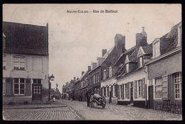 NIEUWKERKE - NEUVE EGLISE ---- RUE DE BAILLEUL --- Tampon Nieuwkerke (28mm) Au Verso - Tonneau De Biere - Heuvelland