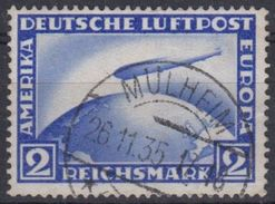 ALEMANIA IMPERIO 1928/31 Nº A-36 USADO - Luftpost