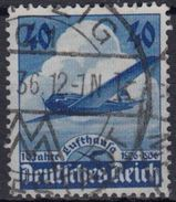 ALEMANIA IMPERIO 1936 Nº A-54 USADO - Luftpost