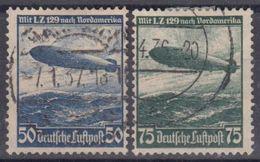 ALEMANIA IMPERIO 1936 Nº A-55/56 USADO - Poste Aérienne