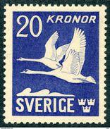 SWEDEN 1942 AIR POST STAMP 20 Mint Scott C8c Mi 290 B - Sweden