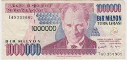 TURQUIE 1000000 Lires 2002 P213 VF - Turquie