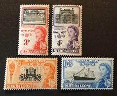 Sierra Leone - MNH** - 1961 - # 221/224 - Sierra Leone (1961-...)