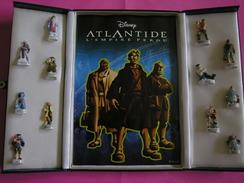 Coffret Collector Série Complète De 12 Fèves Disney - ATLANTIDE L' EMPIRE PERDU 2002 ( Feve THE LOST EMPIRE ) - Disney