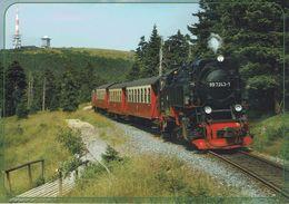 Deutschland - Harzer Schmalspurbahn - Zug Trein Train - Trains