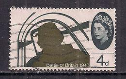 GB 1965 QE2 4d 25th Anniv.Battle Britain Used Stamp SG 672 ( F890 ) - 1952-.... (Elizabeth II)