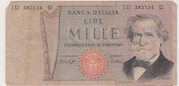 ITALIE 1000 Lires P101 VG - [ 2] 1946-… : République